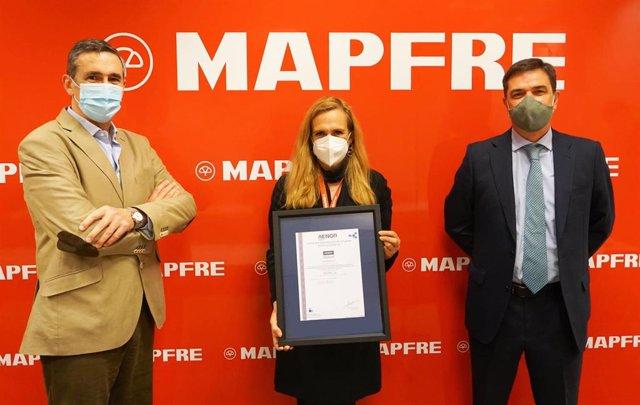 AENOR certifica los protocolos frente al COVID-19 en todas las instalaciones de MAPFRE en España