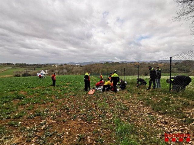 Localitzat l'ancià de 95 anys que va desaparèixer a Banyoles (Girona)