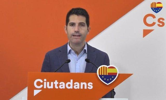 El número 3 de Cs a Catalunya, Nacho Martín Blanco