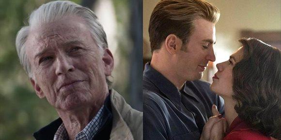 9. Director de Endgame confirma que el viejo Capitán América volvió a viajar en el tiempo
