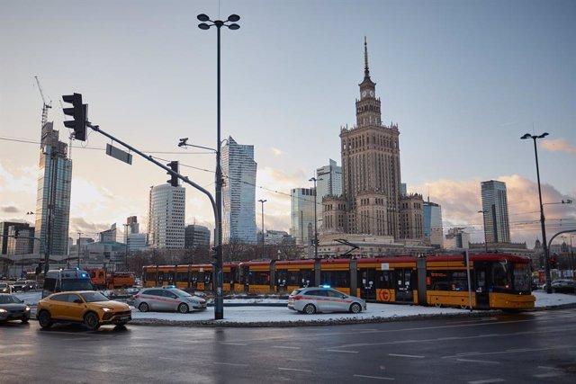 Vista general de Varsovia
