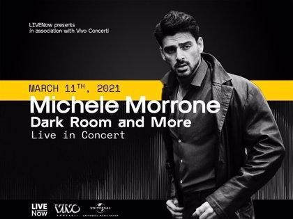 Michele Morrone, protagonista de 365 días, presenta 'Dark Room', su primer disco, con un concierto en streaming