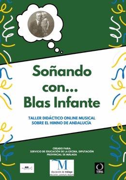 Cartel de actividades por el día de Andalucía