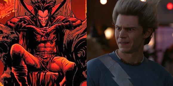 6. Así luce Pietro (Evan Peters) como Mephisto en WandaVision (Bruja Escarlata y Visión)