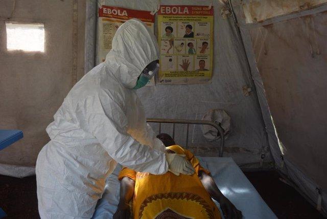 Jackline trabaja como enfermera en la prevención del ébola en Sudán del Sur