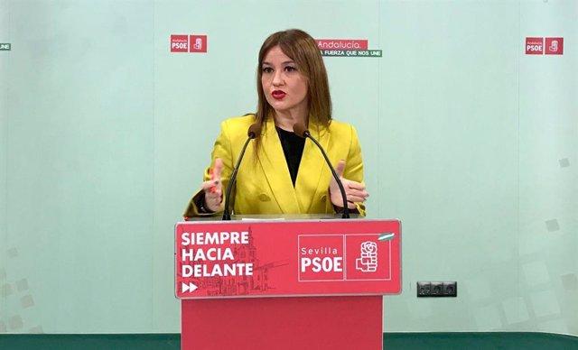 [Sevilla] 13.01.2021 Nota Y Foto Rueda De Prensa Verónica Pérez