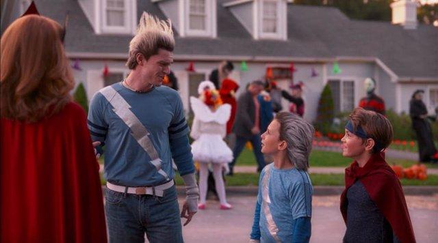WandaVision La frase de Pietro (Evan Peters) que conecta a los mellizos con Mephisto