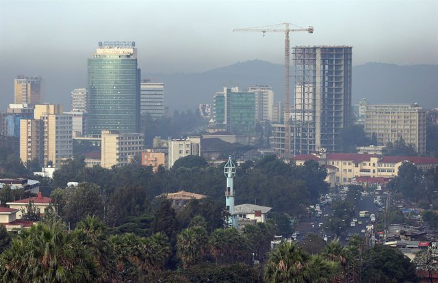 Addis Adeba, capital de Etiopía.