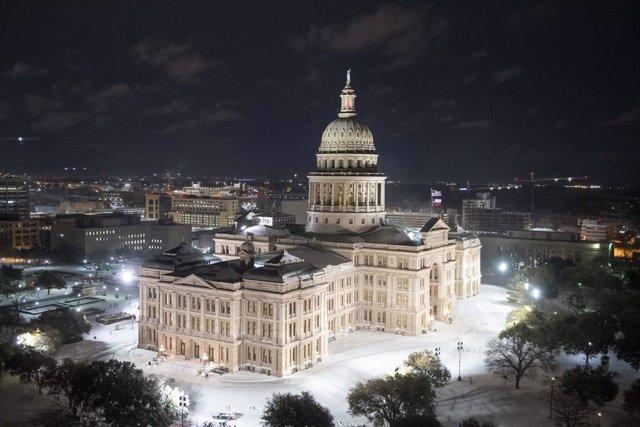 Nevaad en el Capitolio de Austin, Texas
