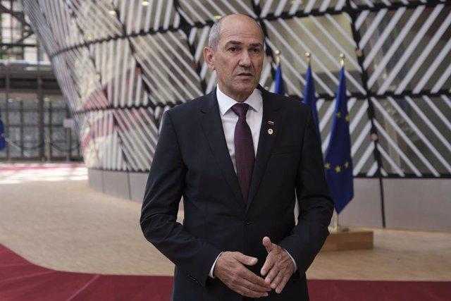 El primer ministro esloveno, Janez Jansa.