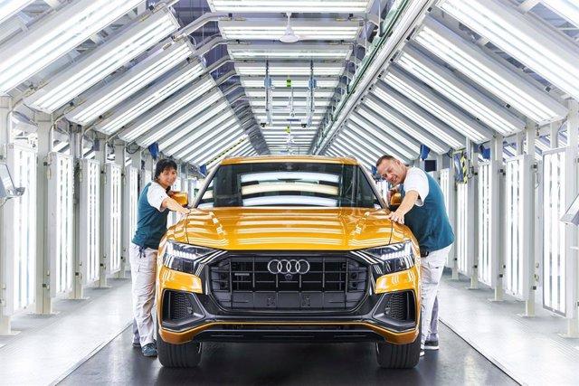 Fábrica de Audi.