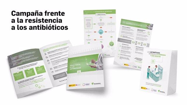 AEMPS y Consejo General de Colegios Farmacéuticos promueven el uso responsable de los antibióticos con una nueva campaña en farmacias