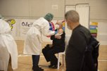 Comienza la vacunación contra el Covid-19 de mayor