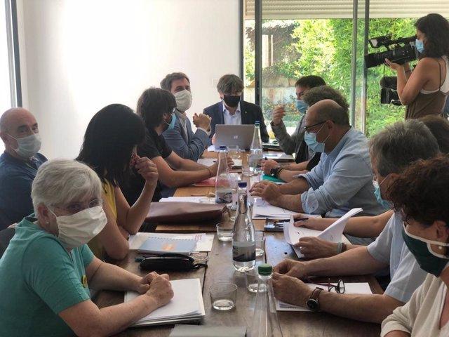 Reunió del Consell per la República a Perpinyà (França)