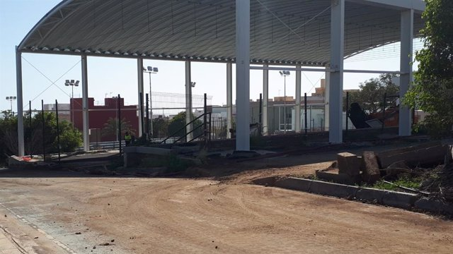Complejo deportivo de Las Delicias, en obras
