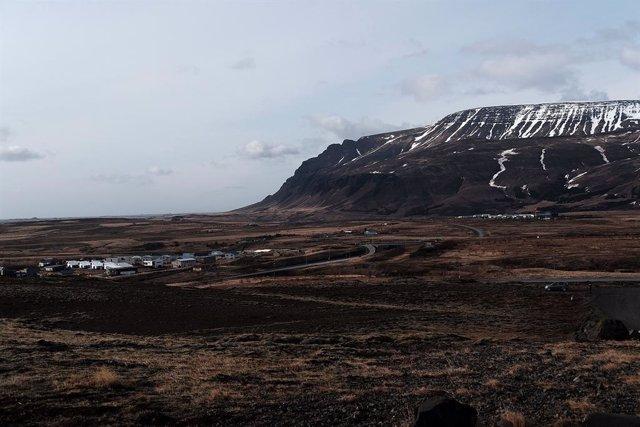 Imagen de arhivo de las montañas a las afueras de Reikjavik.