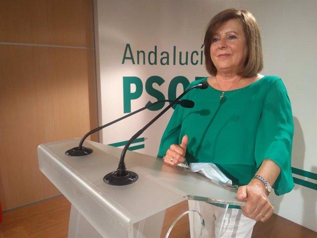La parlamentaria andaluza María José Sánchez Rubio