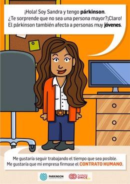 Imagen del videojuego 'Not a game!' para concienciar sobre el Parkinson.