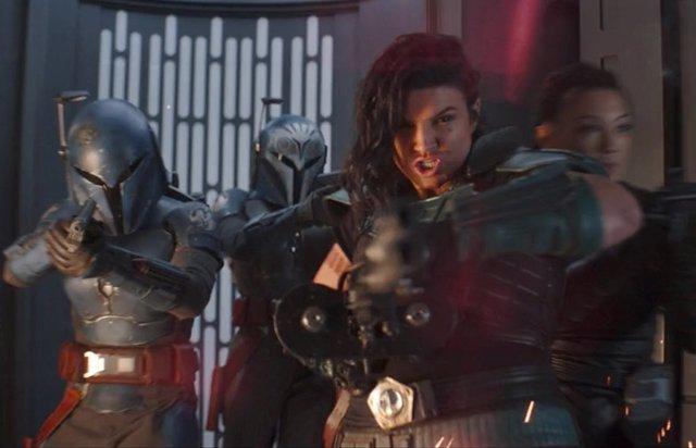 Fans de The Mandalorian exigen a Disney que vuelva a contratar a Gina Carano