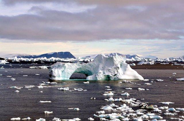 Demostrado un efecto balancín entre masas de hielo polares