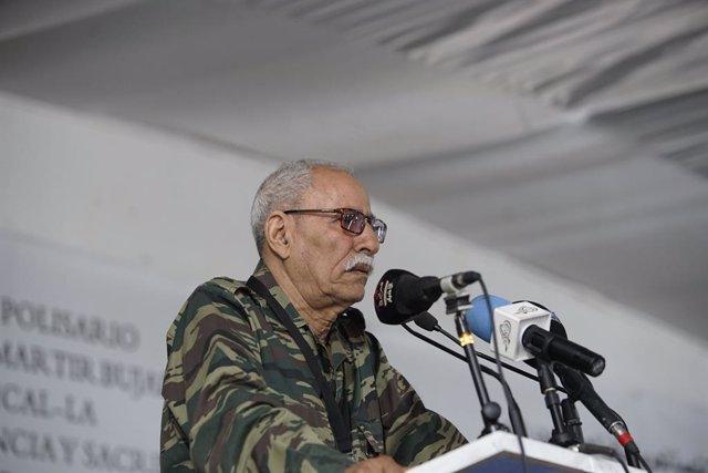 Brahim Gali, presidente de la RASD y secretario general del Frente Polisario