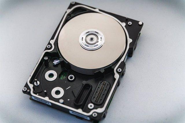 Disco duro HDD.
