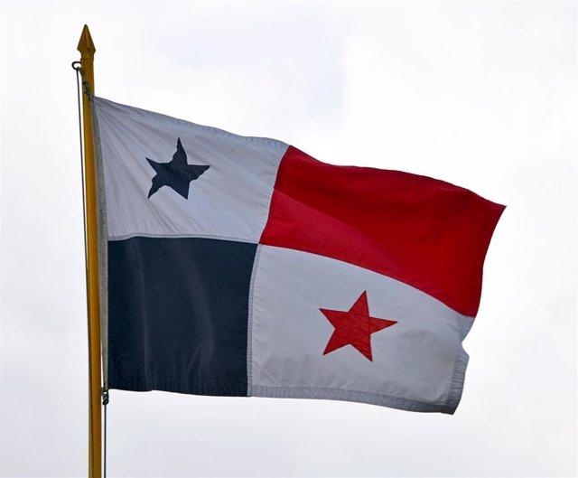 Bandera de Panamá.