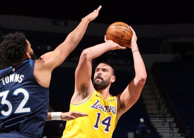 Marc Gasol en el Lakers - Timberwolves