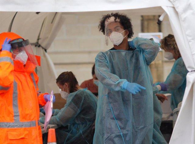 Pruebas de coronavirus en Auckland
