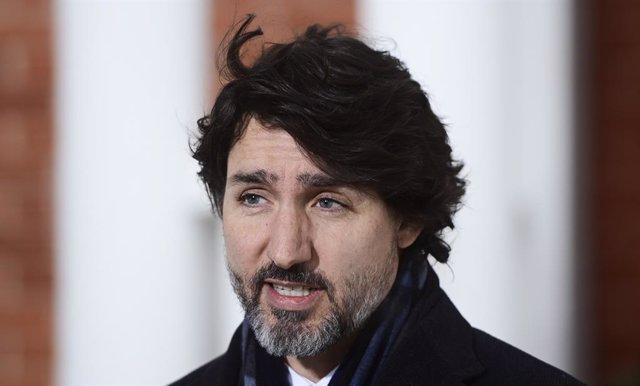 El primer ministro de Canadá, Justin Trudeau.