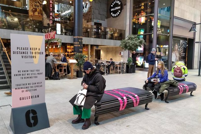 Centro comercial en Estocolmo