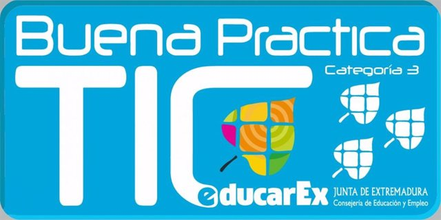Sello de Buena Práctica TIC Educarex en Extremadura