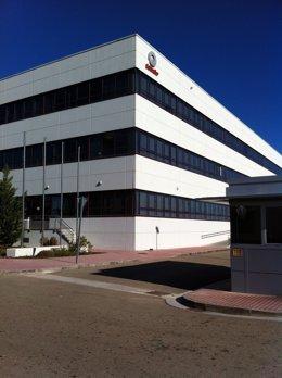 Exterior de la planta de Schindler en Zaragoza