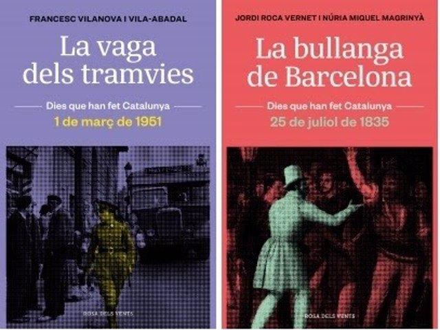 """Una colección del sello Rosa dels Vents ahonda en """"puntos de inflexión"""" de la historia catalana"""