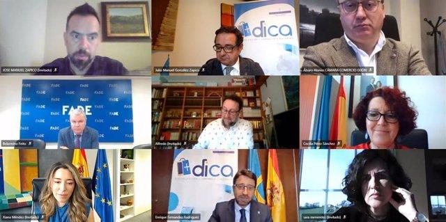 Presentación del programa de digitalización del comercio en Asturias, DICA.