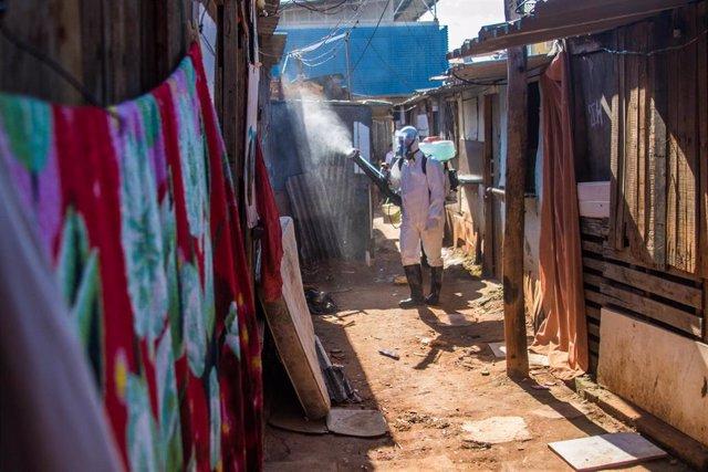 Archivo - VÍDEO: La pandemia deja ya cerca de 103 millones de casos de coronavirus, con 380.000 durante el último día