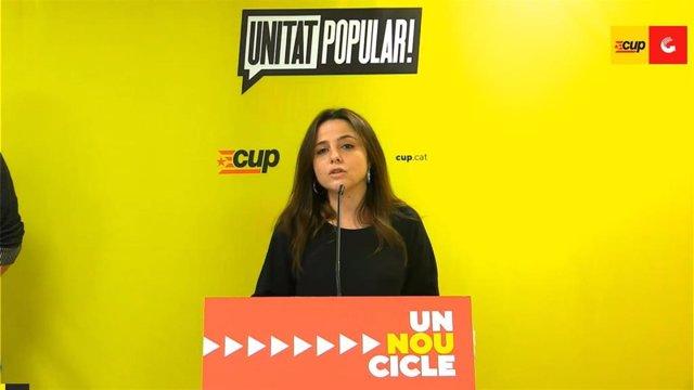 """La CUP dice que la actuación de Mossos del lunes """"dificulta"""" la negociación para formar Govern"""