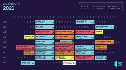 Madrid abrirá en abril y cerrará en diciembre el calendario de World Padel Tour de 2021