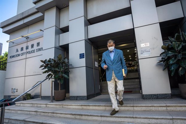 Archivo - China.- Detenido de nuevo el magnate Jimmy Lai en relación con los hongkoneses que trataron de llegar a Taiwán en 2020