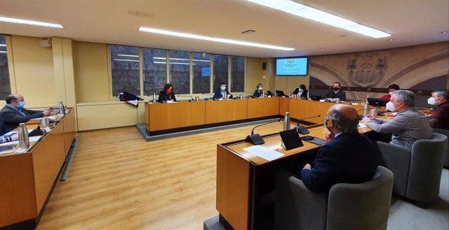 FER, UGT y CCOO participan en la segunda reunión de la ponencia para el Pacto por las Infraestructuras del Parlamento