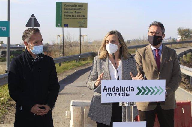 Sevilla.- La Junta inicia la construcción de la plataforma reservada BUS-VAO entre Sevilla y el Aljarafe