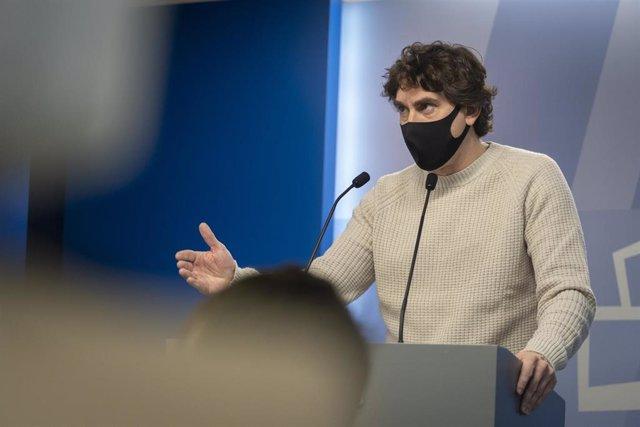 """Archivo - PSE critica que Podemos """"contribuya a tensionar el Gobierno desde dentro"""" y en Euskadi está """"fagocitado"""" por EH Bildu"""