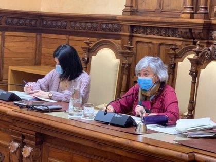 El Pleno rechaza, frente a la propuesta de Podemos-Equo, revocar la autorización del sinter A de ArcelorMittal