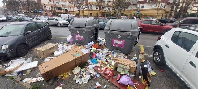 Sevilla.-PP alerta del incremento del 33% de quejas en Lipasam, con un 90% más en relación con la recogida selectiva