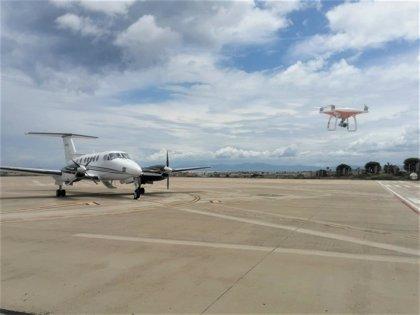 Aena y Enaire investigarán tecnologías para proteger los aeropuertos ante la intrusión de drones