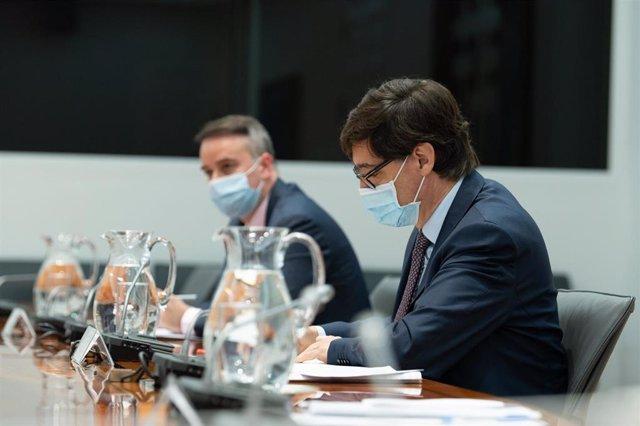 Archivo - Reunión del Comité de Seguimiento del Coronavirus