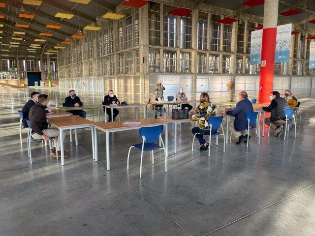CádizAlDía.-Coronavirus.- Ifeca inicia los preparativos para convertirse en sede de vacunaciones de modo inmediato