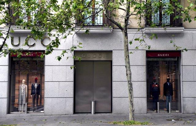 Archivo - Francia.- El dueño de Gucci gana un 6,9% menos en 2020, hasta 2.150 millones