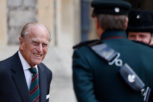 """Archivo - R.Unido.- Ingresado por """"precaución"""" el Duque de Edimburgo, marido de Isabel II"""