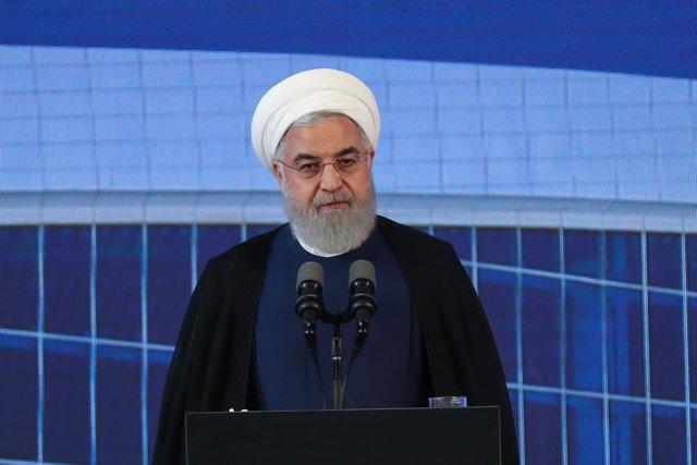 Archivo - AMP.-Irán.- Rohani dice que no expulsará a los inspectores de la AIEA tras la salida de Irán de un protocolo del TNP